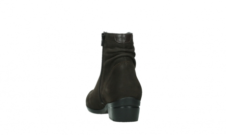 wolky ankle boots 00952 winchester 13305 dark brown nubuck_18