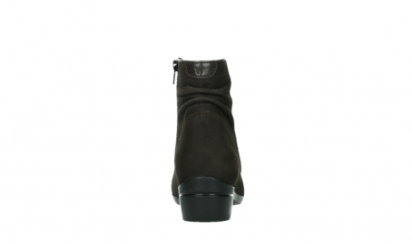 wolky ankle boots 00952 winchester 13305 dark brown nubuck_19