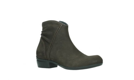 wolky ankle boots 00952 winchester 13305 dark brown nubuck_3