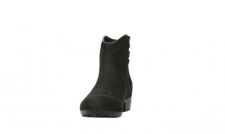 wolky ankle boots 00952 winchester 13305 dark brown nubuck_8