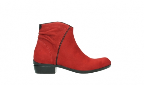 wolky ankle boots 00952 winchester 13505 dark red nubuckleather_1