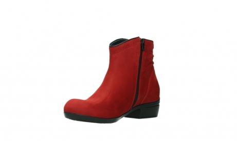 wolky ankle boots 00952 winchester 13505 dark red nubuckleather_10