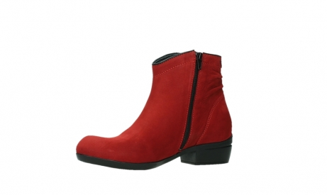 wolky ankle boots 00952 winchester 13505 dark red nubuckleather_11
