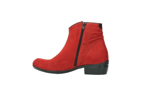 wolky ankle boots 00952 winchester 13505 dark red nubuckleather_14