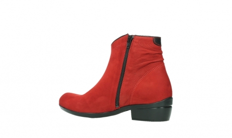wolky ankle boots 00952 winchester 13505 dark red nubuckleather_15