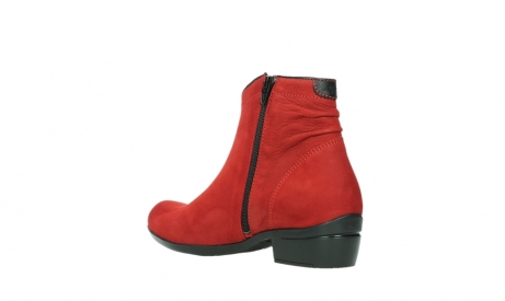 wolky ankle boots 00952 winchester 13505 dark red nubuckleather_16