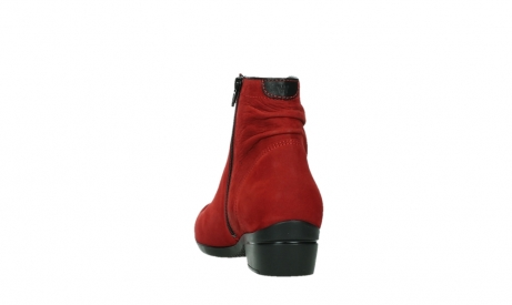 wolky ankle boots 00952 winchester 13505 dark red nubuckleather_18