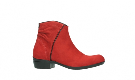 wolky ankle boots 00952 winchester 13505 dark red nubuckleather_2