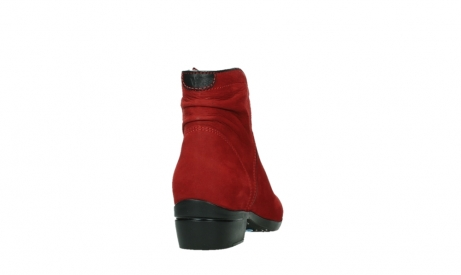 wolky ankle boots 00952 winchester 13505 dark red nubuckleather_20