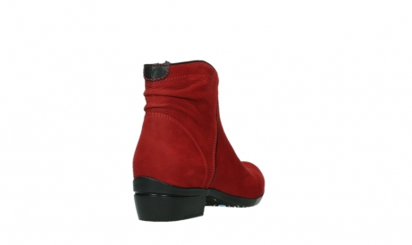 wolky ankle boots 00952 winchester 13505 dark red nubuckleather_21