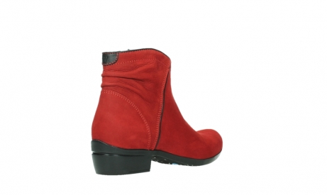 wolky ankle boots 00952 winchester 13505 dark red nubuckleather_22