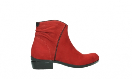 wolky ankle boots 00952 winchester 13505 dark red nubuckleather_24