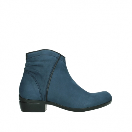 wolky ankle boots 00952 winchester 13800 blue nubuckleather