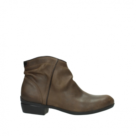 wolky ankle boots 00952 winchester 50152 taupe leather