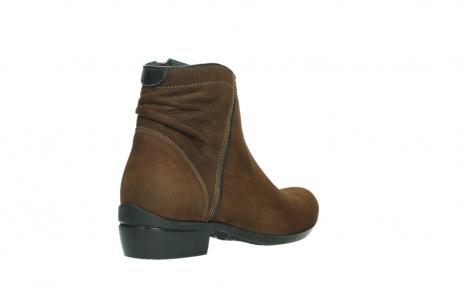 wolky ankle boots 00954 winchester wp 13410 tabaccobrown nubuckleather_22
