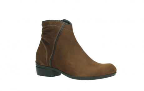 wolky ankle boots 00954 winchester wp 13410 tabaccobrown nubuckleather_3