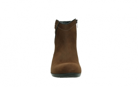 wolky ankle boots 00954 winchester wp 13410 tabaccobrown nubuckleather_7