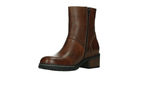 wolky ankle boots 01262 drayton 30430 cognac leather_10