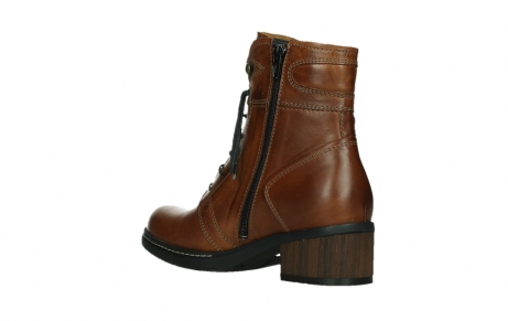 wolky ankle boots 01263 red deer cw 30430 cognac leather_16