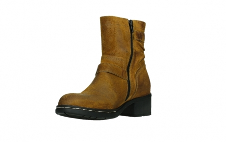 wolky ankle boots 01265 raymore 45925 dark ocher suede_10