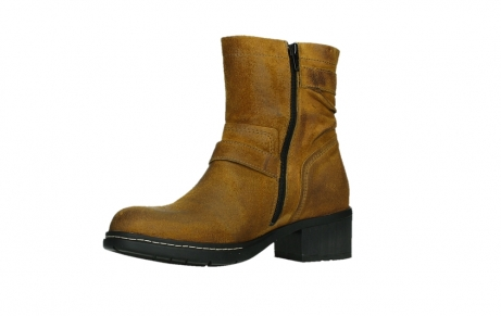 wolky ankle boots 01265 raymore 45925 dark ocher suede_11