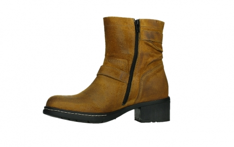 wolky ankle boots 01265 raymore 45925 dark ocher suede_12