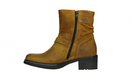 wolky ankle boots 01265 raymore 45925 dark ocher suede_13