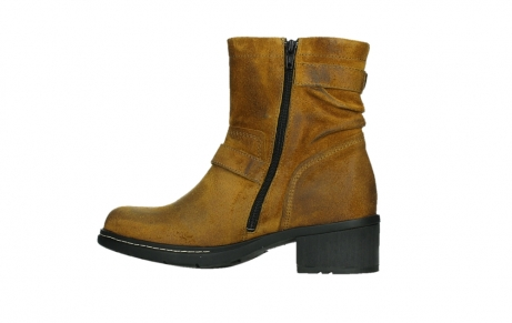 wolky ankle boots 01265 raymore 45925 dark ocher suede_14
