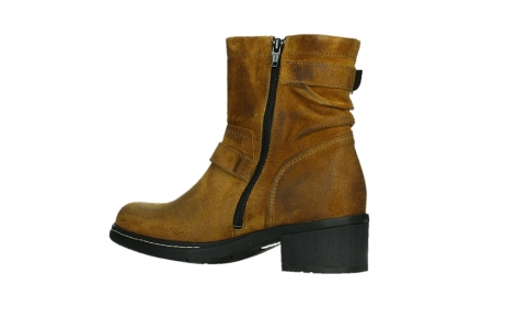 wolky ankle boots 01265 raymore 45925 dark ocher suede_15