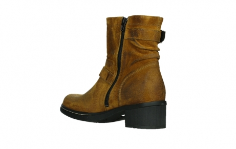 wolky ankle boots 01265 raymore 45925 dark ocher suede_16