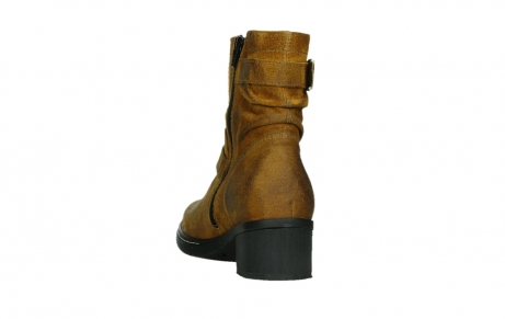 wolky ankle boots 01265 raymore 45925 dark ocher suede_18