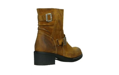 wolky ankle boots 01265 raymore 45925 dark ocher suede_22