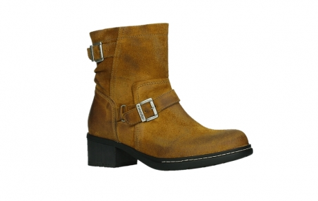 wolky ankle boots 01265 raymore 45925 dark ocher suede_3