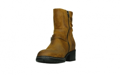 wolky ankle boots 01265 raymore 45925 dark ocher suede_9