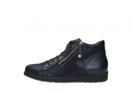 wolky ankle boots 02423 gravity 78800 blue combi leather_1