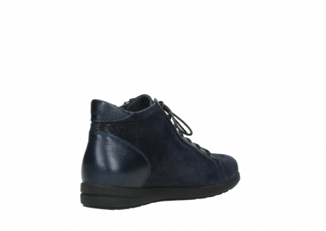 wolky ankle boots 02423 gravity 78800 blue combi leather_10