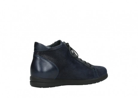 wolky ankle boots 02423 gravity 78800 blue combi leather_11