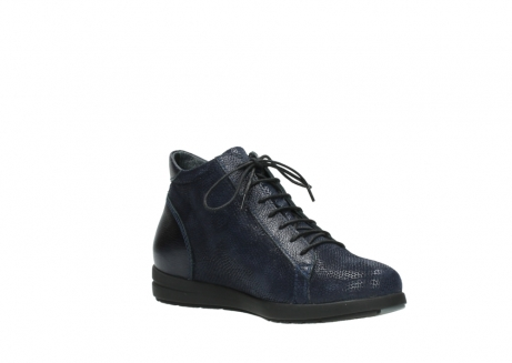 wolky ankle boots 02423 gravity 78800 blue combi leather_16