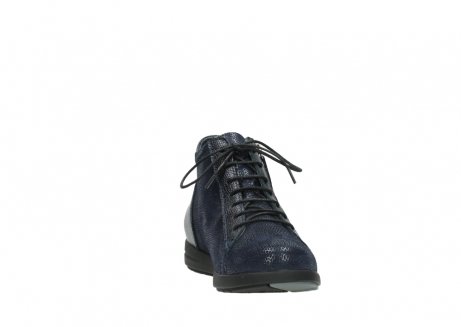 wolky ankle boots 02423 gravity 78800 blue combi leather_18