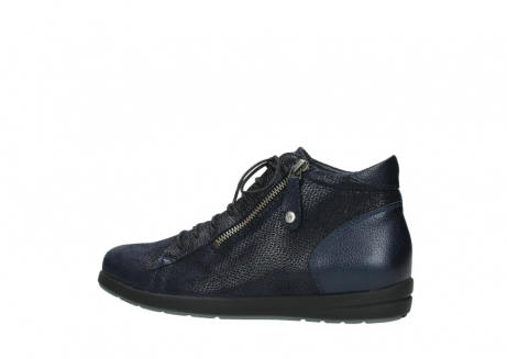 wolky ankle boots 02423 gravity 78800 blue combi leather_2