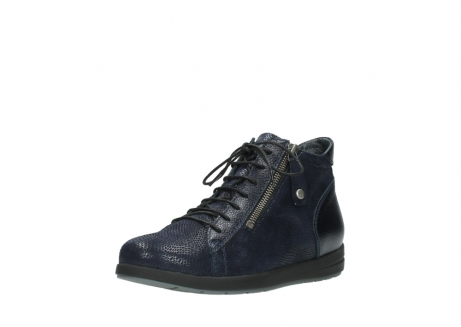 wolky ankle boots 02423 gravity 78800 blue combi leather_22