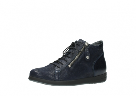 wolky ankle boots 02423 gravity 78800 blue combi leather_23