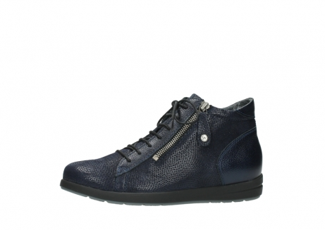 wolky ankle boots 02423 gravity 78800 blue combi leather_24