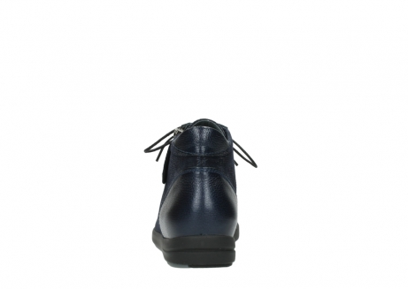 wolky ankle boots 02423 gravity 78800 blue combi leather_7