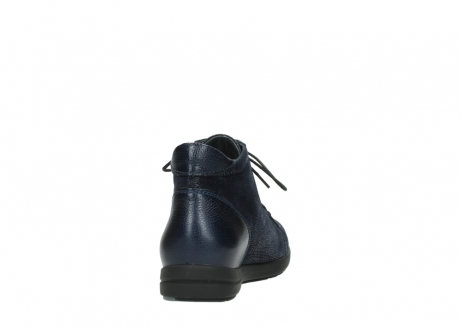 wolky ankle boots 02423 gravity 78800 blue combi leather_8