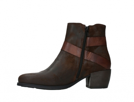 wolky ankle boots 02875 silio 45410 tobacco suede_12