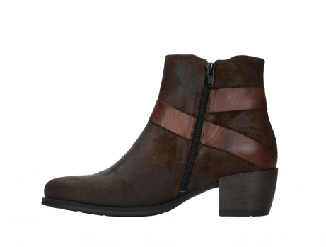 wolky ankle boots 02875 silio 45410 tobacco suede_13