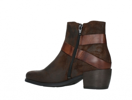 wolky ankle boots 02875 silio 45410 tobacco suede_15