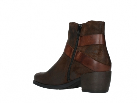 wolky ankle boots 02875 silio 45410 tobacco suede_16