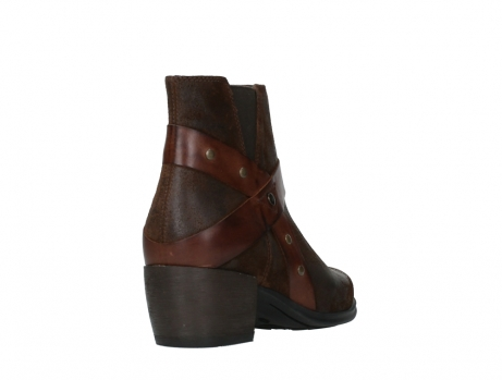 wolky ankle boots 02875 silio 45410 tobacco suede_21